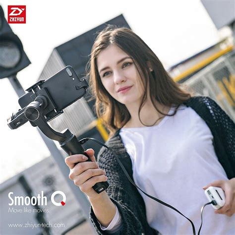 zhiyun smooth q smooth q handheld gimbal stabilizer for iphone 7 6s plus s7 s6 xiaomi smartphone