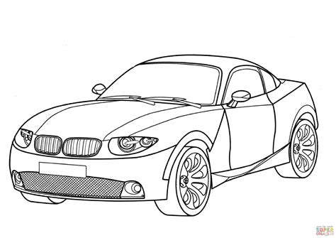 coloring pages bmw car bmw x coupe coloring page free printable coloring pages