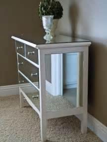 diy mirrored dresser crafty