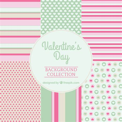 cute valentine pattern valentine s day cute patterns vector free download