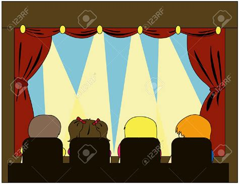 play theater stage clip art on stage clipart clipground