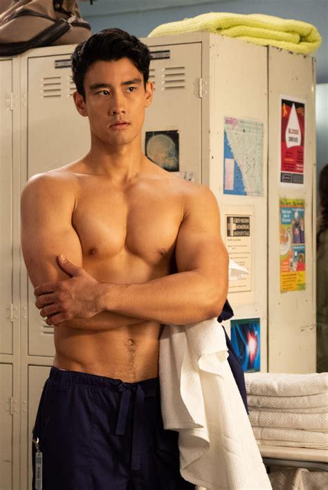 grey s anatomy nico kim actor grey s anatomy season 15 photos hollywood life