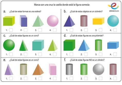 figuras geometricas tridimensionales para niños figuras geom 233 tricas en primaria