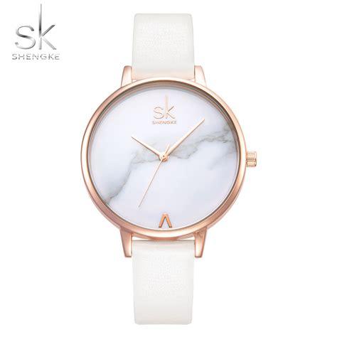 Fashion Wrist Watches White by Shengke Fashion Watches Wrist Watches
