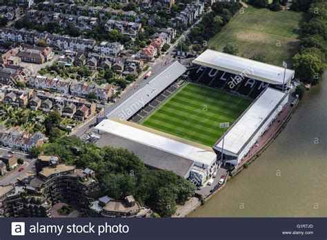 craven cottage fulham an aerial view of craven cottage home of fulham football