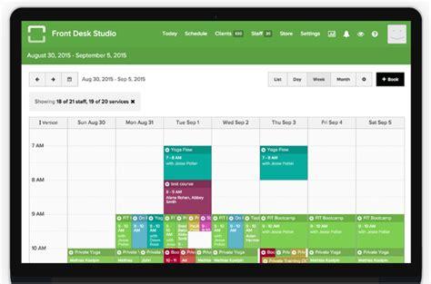 front desk software front desk mobile client management for small business