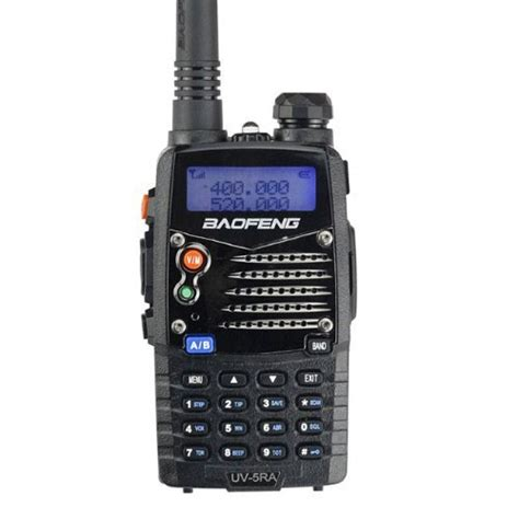 Ht Baofeng Uv5ra Dual Band Plus Fm Radio Dan Senter baofeng uv5ra ham two way radio 136 174 400 480 mhz dual band transceiver black products for