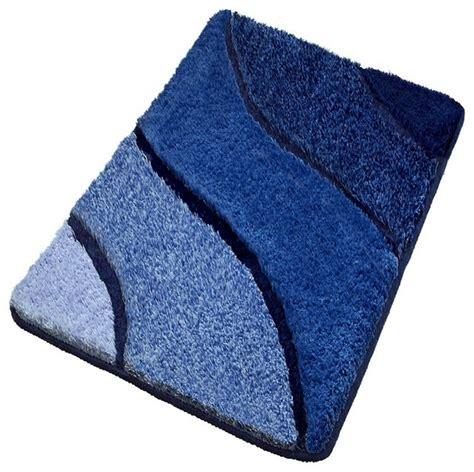 Luxury Bathroom Rugs, Blue Bath Rugs   Contemporary   Bath