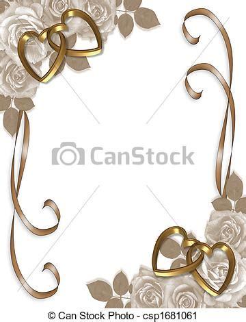 clipart de roses mariage s 233 pia invitation image et
