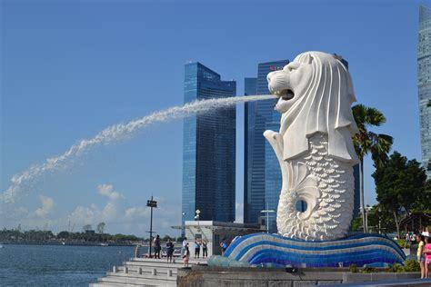 Pajangan Merlion Singapore merlion park singapore in photos escape with style