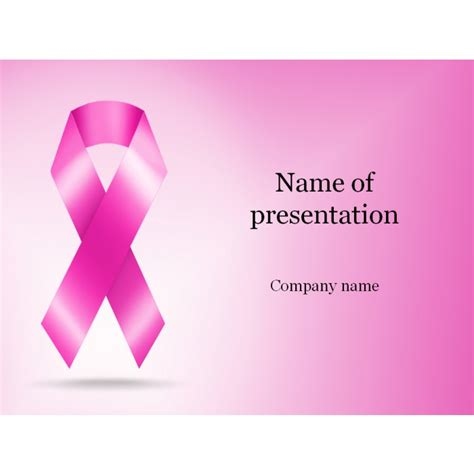 breast cancer ppt template cherry themes apple mac keynote themes templates