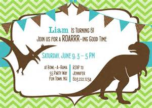 dinosaur birthday invitation dinosaur by asyouwishcreations4u