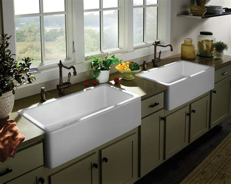 sinks for kitchen farmhouse sink options for kitchen homesfeed