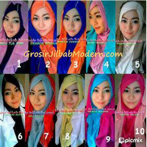 Pashmina Instant Hoody layer intan hoodie series grosir jilbab modern