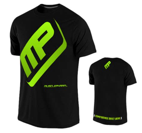 Musclepharm Flagship T Shirt Original Usa Pharm Performance T Shirt