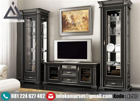 Bufet Tv Meja Tv Bunga Mawar jual bufet tv hias desain klasik minimalis modern arts indo furniture jepara