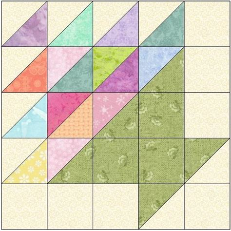 Quilt Block Patterns by Easter Basket Quilt Block Pattern By Feverishquilter Craftsy