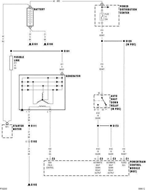 pt cruiser ignition switch wiring diagram pt get free