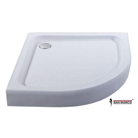 piatto doccia 80x80 piatto doccia angolare 80x80 con sifone e tappo san marco