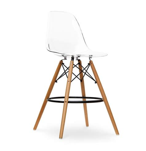 Tabouret Eames by Tabouret Bar Dsw Ghost Style Eames Secret Design