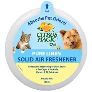 In Air Freshener Pet Citrus Magic Pet Odor Absorbing Solid Air Freshener