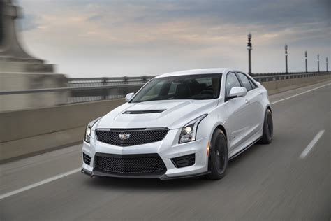 The Black Cadillacs by 2017 Cadillac Ats V Carbon Black Revealed Gm Authority