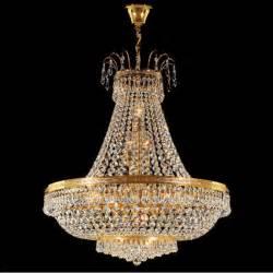 24 Light Chandelier Lustre Cristal Plaqu 233 Or Empire 65 Cm Kolarz 233 Clairage