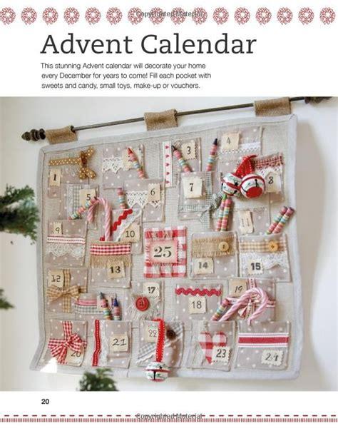 Handmade Fabric Advent Calendar - 25 unique fabric ideas on animated
