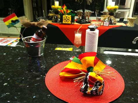 jamaican themed party food bob marley bedding rasta birthday birthday party ideas photo 19 of 21 catch my