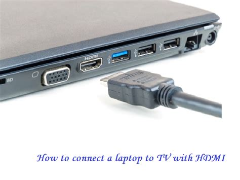 hdmi cable to connect apple laptop to tv how to connect a laptop to tv with hdmi and more