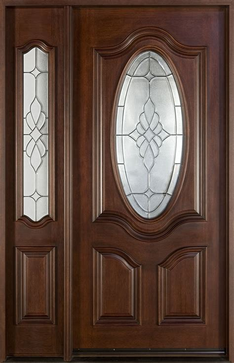 Classic Front Entry Doors In Chicago Il At Glenview Haus Mahogany Front Doors