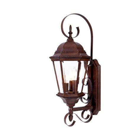 Acclaim Lighting Acclaim Lighting 5413bw Burled Walnut New Orleans 3 Light