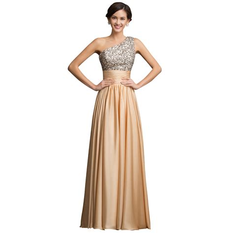 Dress Grace Dress Grace stock grace karin a line one shoulder evening dress gown 2015 sequined gold prom dresses for jpg