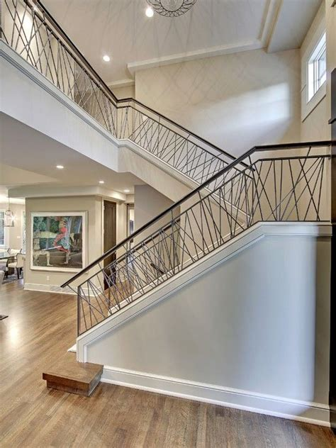 portal rail designs contemporary stair with railing transitional