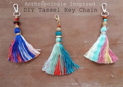 Tassel Earring Key diy capped tassels