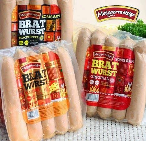 goodwin food sosis bratwurst sosis jumbo sosis bakar