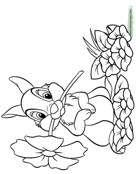 disney bambi printable coloring pages 2 disney coloring book