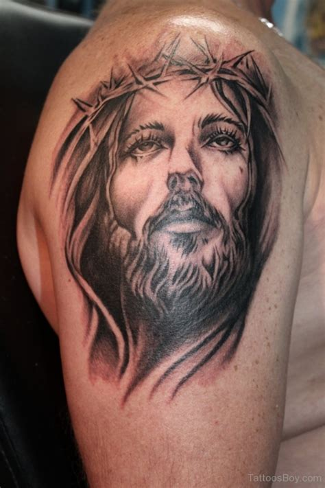 jesus face tattoo designs jesus tattoos designs pictures page 18