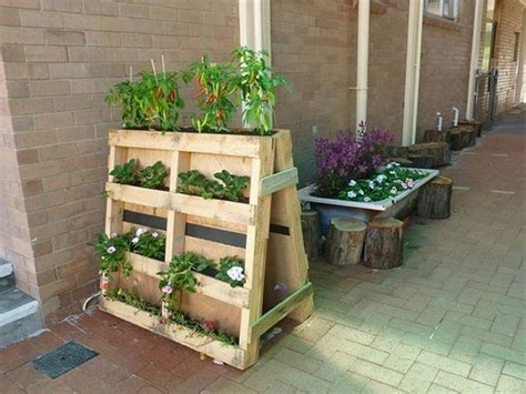 Garden Ideas With Pallets Diy Shipping Pallet Garden Ideas Pallet Idea
