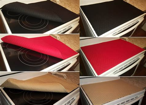 Cooktop Cover Glass Stove Top Cook Top Cover Protector 11 Colors