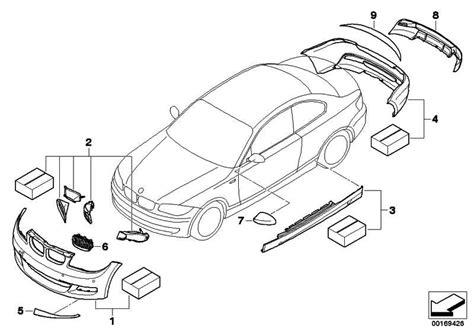 Bmw 1er Coupe Performance Paket by Bmw Performance K 252 Hlluft Paket 135i 1er 51740442875