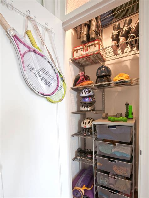 Garage Sports Storage Ideas Organizing Storage Tips For The Pint Size Set