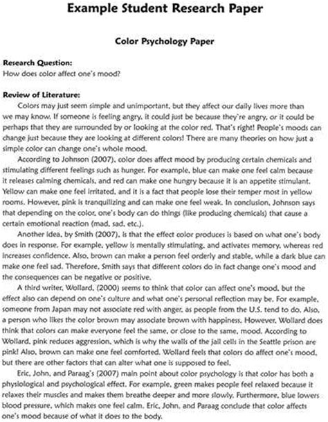 how to write a science research paper for science fair science research papers