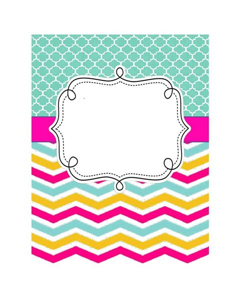 Binder Cover Template 35 beautifull binder cover templates template lab