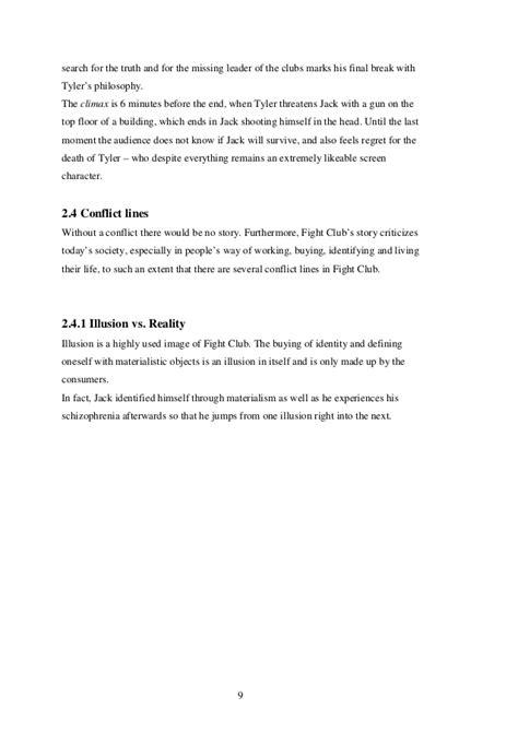 Fighting Essay by Essay Fight Club