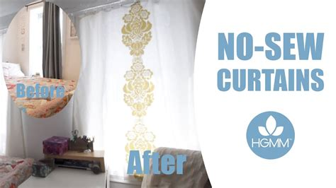 make your own curtains no sew diy no sew curtains tutorial home garden for mere mortals