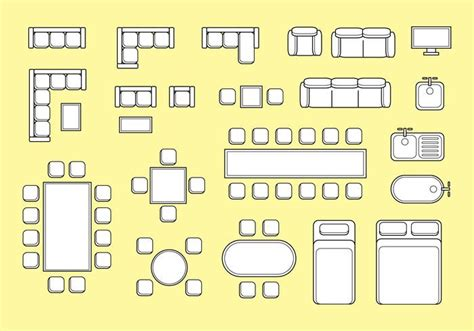 clipart furniture floor plan clipart furniture floor plan 28 images vector image