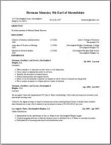 Resume Templates Education by Free Resume Templates