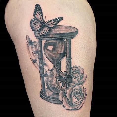 hourglass tattoos 62 best hourglass design ideas with meaning