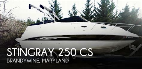 stingray boats for sale in maryland sold stingray 250 cs boat in brandywine md 084863